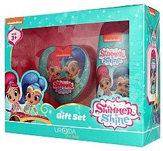 Düfte, Parfümerie und Kosmetik Geschenkset für Kinder - Uroda For Kids Shimmer & Shine (Duschgel 250ml + Badeschwamm)