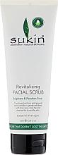 Düfte, Parfümerie und Kosmetik Revitalisierendes Gesichtspeeling - Sukin Facial Scrub