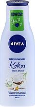 Düfte, Parfümerie und Kosmetik Sensual Körperlotion Kokosnuss & Monoi Öl - Nivea Body Oil in Lotion
