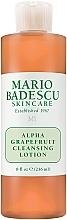 Düfte, Parfümerie und Kosmetik Reinigungslotion für das Gesicht mit Grapefruit - Mario Badescu Alpha Grapefruit Cleansing Lotion