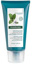 Düfte, Parfümerie und Kosmetik Feuchtigkeitsspendende Haarspülung - Klorane Anti-Pollution Protective Conditioner With Aquatic Mint