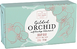 Düfte, Parfümerie und Kosmetik Luxuriöse Seife Orchidee - Scottish Fine Soap Gilded Orchid Luxury Wrapped Soap