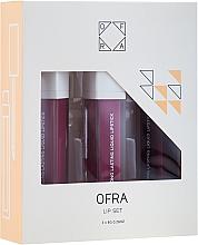 Düfte, Parfümerie und Kosmetik Lippenpflegeset (Flüssiger Lippenstift 3x8g) - Ofra Me, Myself, & I Lip Set