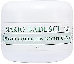 Düfte, Parfümerie und Kosmetik Nachtcreme mit Kollagen - Mario Badescu Elasto-Collagen Night Cream