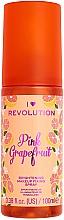 Düfte, Parfümerie und Kosmetik Make-up Fixierspray mit Grapefruitextrakt - I Heart Revolution Fixing Spray Grapefruit