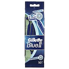 Düfte, Parfümerie und Kosmetik Set Einwegrasierer 10 st. - Gillette Blue II Chromium
