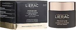 Düfte, Parfümerie und Kosmetik Reichhaltige Anti-Aging Gesichtscreme mit Original-Textur - Lierac Premium la Creme Voluptueuse Texture Originelle