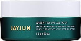 Düfte, Parfümerie und Kosmetik Hydrogel-Augenpatches mit grünem Tee - Jayjun Green Tea Eye Gel Patch