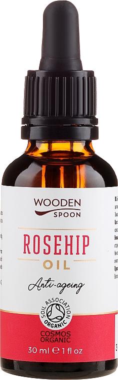 Kaltgepresstes Hagebuttenöl - Wooden Spoon Rosehip Oil