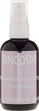 Flüssiges Keratin 100% mit Ceramiden - BingoSpa 100% Pure Liquid Keratin with Ceramides