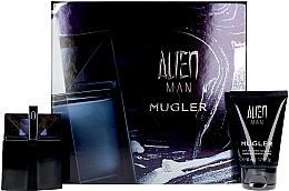 Düfte, Parfümerie und Kosmetik Mugler Alien Man Gift Set - Duftset (Eau de Toilette 50ml + Körpeshampoo 50ml)