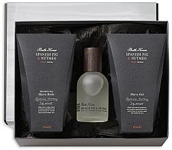Düfte, Parfümerie und Kosmetik Bath House Spanish Fig and Nutmeg - Duftset (Eau de Cologne 100ml + After Shave Balsam 100ml + Rasiergel 100ml)