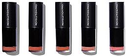 Düfte, Parfümerie und Kosmetik Set Lippenstifte 5 St. - Revolution Pro 5 Lipstick Collection Bare