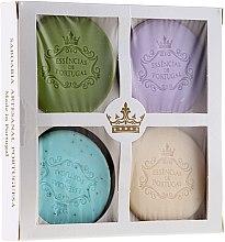 Düfte, Parfümerie und Kosmetik Seifenset - Essencias De Portugal Senses Natural (Seife 4x50g)