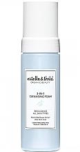 Düfte, Parfümerie und Kosmetik 3in1 Erfrischender Reinigungsschaum für das Gesicht mit Aloe Vera - Estelle & Thild BioCleanse 3in1 Cleansing Foam