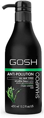 Reinigendes Shampoo für alle Haartypen - Gosh Anti-Pollution Shampoo — Bild N3