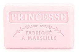 Düfte, Parfümerie und Kosmetik Handgemachte Naturseife mit bluigem Duft und Sheabutter Prinzessin - Foufour Savonnette Marseillaise Princesse