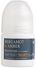 Düfte, Parfümerie und Kosmetik Bath House Bergamot & Amber - Deo Roll-on Bergamotte & Bernstein
