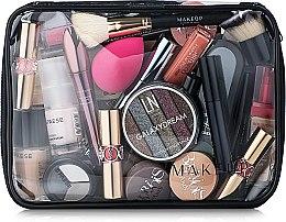 Düfte, Parfümerie und Kosmetik Kosmetiktasche Visible Bag transparent 25x18x8 cm - MakeUp