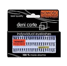 Düfte, Parfümerie und Kosmetik Künstliche Wimpern für doppeltes Volumen - Deni Carte Fake Eyelashes M