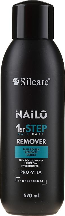 Nagellackentferner acetonfrei - Silcare Nailo Pro-Vita