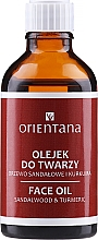 Düfte, Parfümerie und Kosmetik Gesichtsöl mit Kurkuma und Sandelholz - Orientana Face Oil Sandalwood & Turmeric