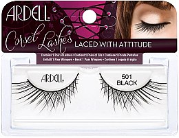 Düfte, Parfümerie und Kosmetik Künstliche Wimpern - Ardell Lashes Corset Collection Black 501