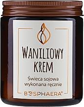 Düfte, Parfümerie und Kosmetik Soja-Duftkerze Vanilla Cream - Bosphaera Vanilla Cream Candle