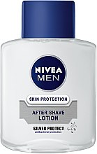 Düfte, Parfümerie und Kosmetik After Shave Lotion Silberschutz - Nivea For Men Silver Protect After Shave Lotion