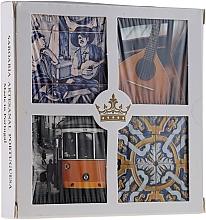 Düfte, Parfümerie und Kosmetik Naturseifen Geschenkset 4 St. - Essencias De Portugal Living Portugal (Seifen 4x50g)
