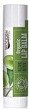 Düfte, Parfümerie und Kosmetik Pflegender Bio-Lippenbalsam mit Olivenöl und Vitamin E - Wooden Spoon Lip Balm Olive Kiss