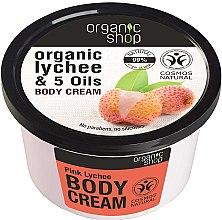 """Düfte, Parfümerie und Kosmetik Körpercreme """"Pink Lychee"""" - Organic Shop Body Cream Organic Lichee & Oils"""