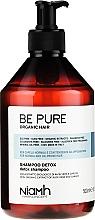 Düfte, Parfümerie und Kosmetik Regulierendes Shampoo mit Aloe Vera- und Karotten-Extrakt - Niamh Hairconcept Be Pure Detox Shampoo