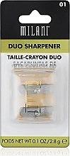 Düfte, Parfümerie und Kosmetik Doppelanspitzer - Milani Duo Sharpener
