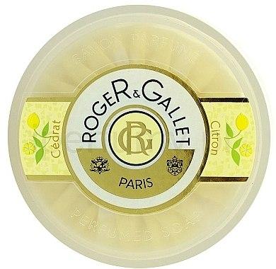 Parfümierte Seife mit Zitrone - Roger & Gallet Cedrat Perfumed Soap — Bild N2