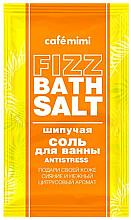 Düfte, Parfümerie und Kosmetik Anti-Stress Badesalz mit Zitrusduft - Cafe Mimi Fizz Bath Salt