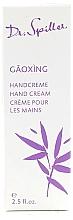 Düfte, Parfümerie und Kosmetik Regenerierende und feuchtigkeitsspendende Handcreme mit Vitamin E, Jasminöl und Litschiextrakt - Dr. Spiller Gaoxing Hand Cream
