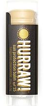 Düfte, Parfümerie und Kosmetik Sonnenschützender Lippenbalsam SPF 15 - Hurraw! Sun Protection Lip Balm SPF15 Limited Edition