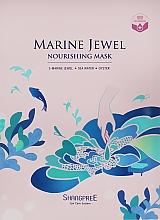 Düfte, Parfümerie und Kosmetik Pflegende Tuchmaske für das Gesicht mit Meerwasser und Austern - Shangpree Marine Jewel Nourishing Mask