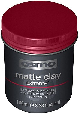 Intensiv mattierendes langanhaltendes Haarwachs mit natürlichem Finish Extrem starker Halt - Osmo Matte Clay Extreme
