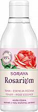 Düfte, Parfümerie und Kosmetik Gesichtstonikum mit Rosenwasser, Rosenextrakt und Panthenol - Soraya Rosarium Tonic Rose Essence