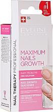 Behandlung zum Nagelwachstum mit Keratin und Seide - Eveline Cosmetics Nail Therapy Professional  — Bild N1