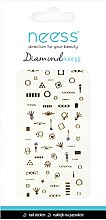 Düfte, Parfümerie und Kosmetik Dekorative Nagelsticker 3709 - Neess Diamondneess