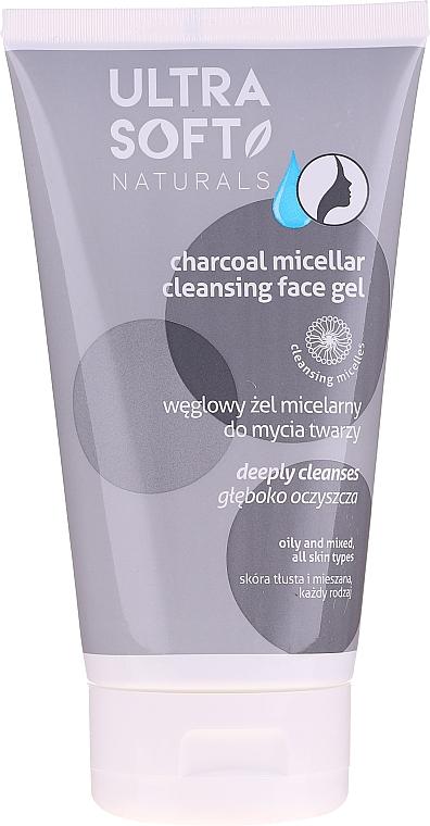 Tiefenreinigendes Mizellengel für das Gesicht mit Aktivkohle - Tolpa Ultra Soft Micellar Face Gel