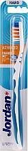 Düfte, Parfümerie und Kosmetik Zahnbürste ohne Kappe weiß-blau - Jordan Advanced Toothbrush