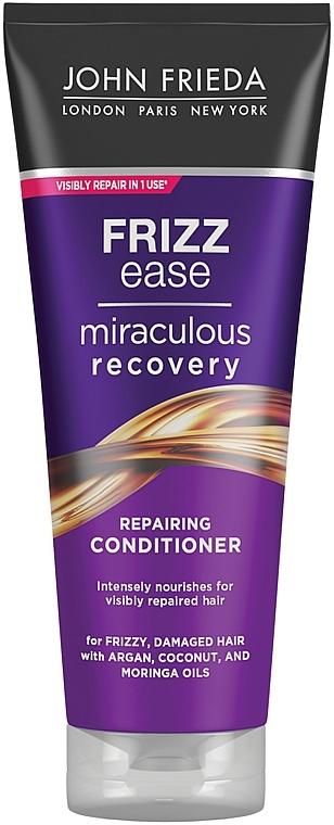 Regenerierende Haarspülung für geschädigtes Haar - John Frieda Frizz Ease Miraculous Recovery Conditioner