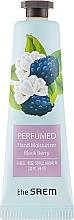Düfte, Parfümerie und Kosmetik Parfümierte Handcreme mit Brombeere - The Saem Perfumed Black Berry Hand Moisturizer