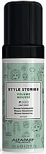 Düfte, Parfümerie und Kosmetik Haarmousse für mehr Volumen Leichter Halt - Alfaparf Milano Style Stories Volume Mousse