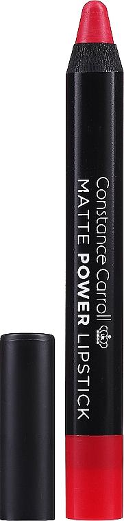 Matter Lippenstift - Constance Carroll Matte Power Lipstick