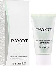 Düfte, Parfümerie und Kosmetik Mattierende und klärende Gesichtsmaske mit Aktivkohle - Payot Pate Grise Masque Charbon